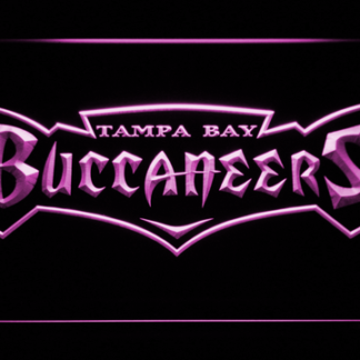Tampa Bay Buccaneers 1997-2013 Text Logo - Legacy Edition neon sign LED