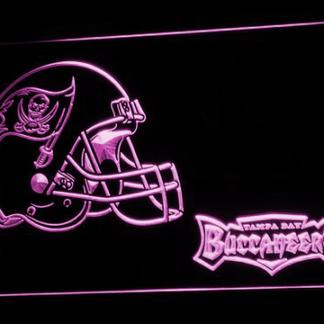 Tampa Bay Buccaneers Helmet neon sign LED
