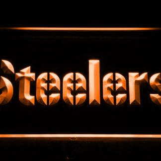 Pittsburgh Steelers Text neon sign LED