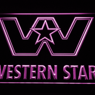 Western Star neon sign LED