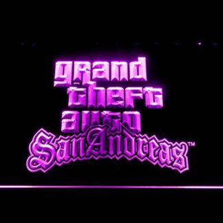 Grand Theft Auto San Andreas neon sign LED