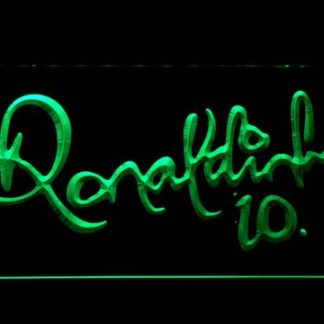 FC Barcelona Ronaldinho Signature neon sign LED