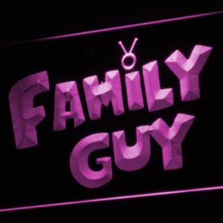 Family Guy neon sign LED