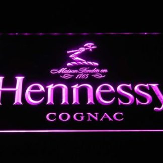 Hennessy Cognac neon sign LED