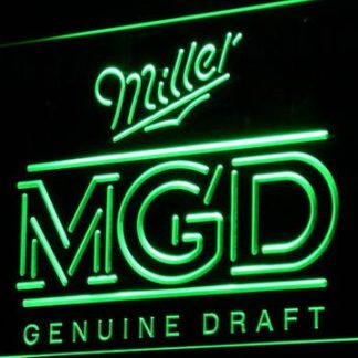 Miller Genuine Draft neon sign LED
