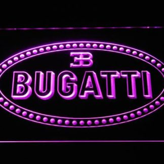 Bugatti neon sign LED