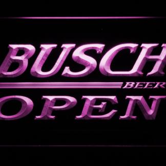Busch Open neon sign LED
