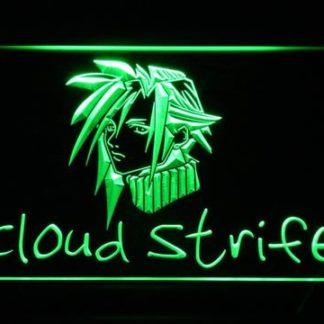 Final Fantasy Cloud Strife neon sign LED