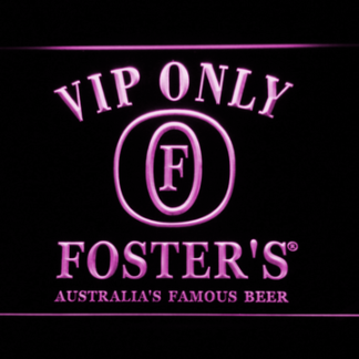 Foster's VIP Only neon sign LED