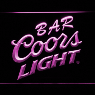 Coors Light Bar neon sign LED