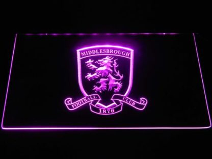 Middlesbrough Football Club Crest neon sign LED
