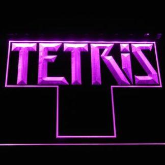 Tetris neon sign LED