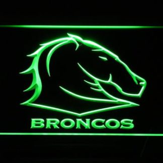 Brisbane Broncos neon sign LED