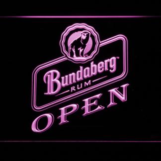 Bundaberg Open neon sign LED