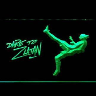 Manchester United Football Club Dare To Zlatan neon sign LED