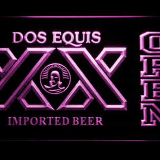 Dos Equis Open neon sign LED