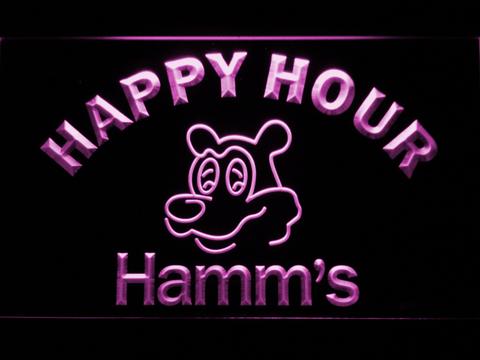 Hamm's Happy Hour neon sign LED
