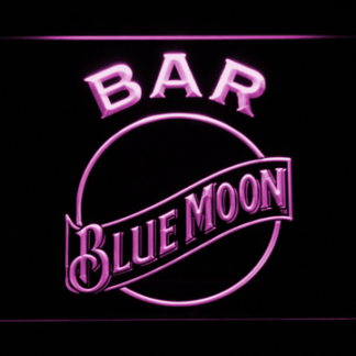 Blue Moon Bar neon sign LED