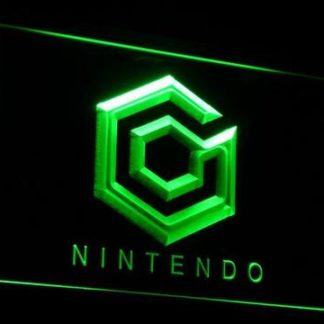 Nintendo Game Cube neon sign LED