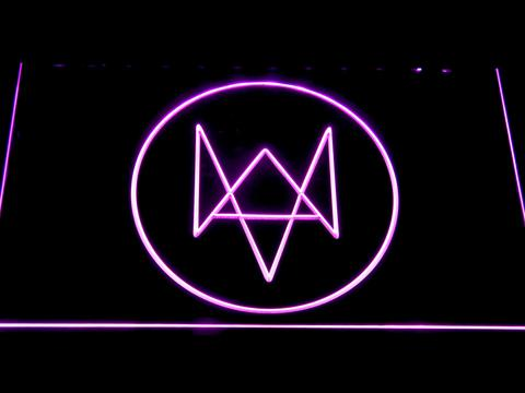 Watch Dogs Logo neon sign LED