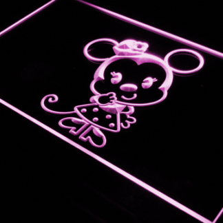 Disney Babies  Minnie Mouse neon sign LED