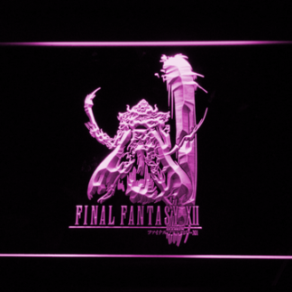 Final Fantasy XII neon sign LED