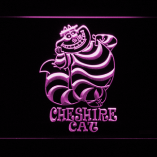 Alice in Wonderland Cheshire Cat Standing neon sign LED