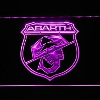 Abarth neon sign LED