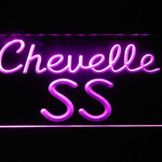 Chevrolet Chevelle SS neon sign LED
