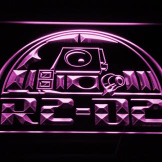 Star Wars R2-D2 Head neon sign LED