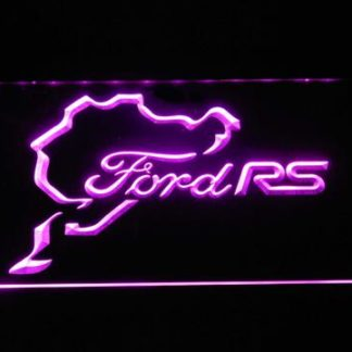 Ford RS neon sign LED