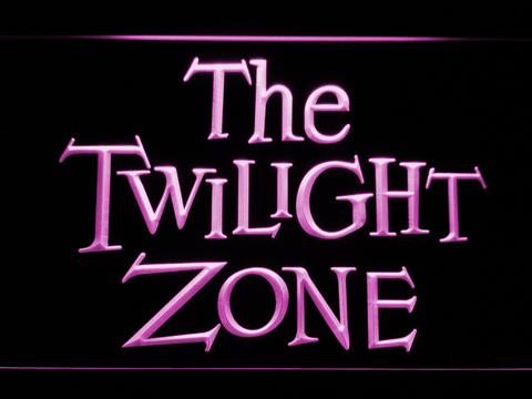 The Twilight Zone neon sign LED