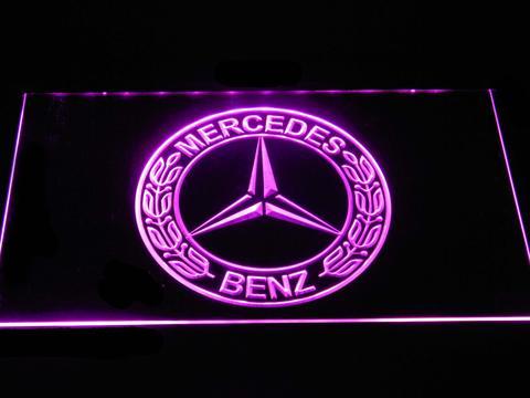 Mercedes Benz Old Logo neon sign LED