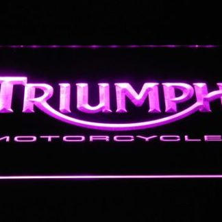 Triumph Motorcycles neon sign LED