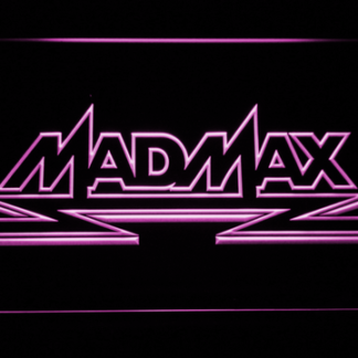 Mad Max neon sign LED