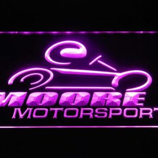Moore Motorsports neon sign LED