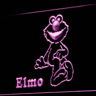 Sesame Street Elmo neon sign LED