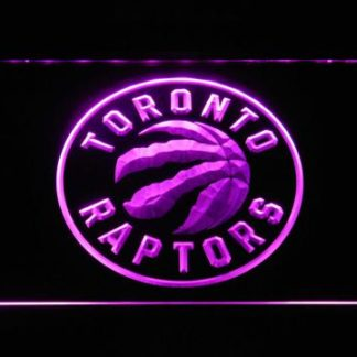 Toronto Raptors Badge neon sign LED