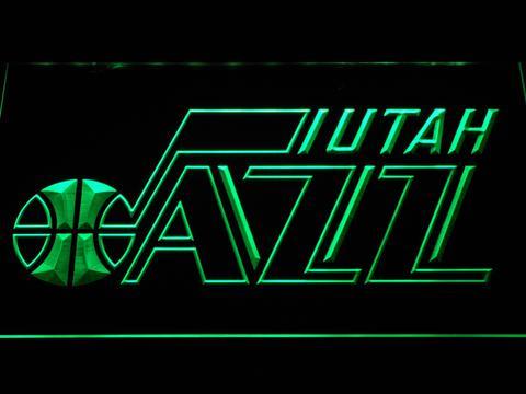 Utah Jazz Badge neon sign LED