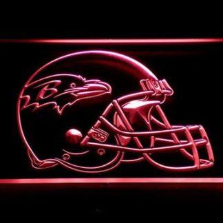 Baltimore Ravens Helmet neon sign LED