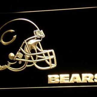 Chicago Bears Helmet neon sign LED
