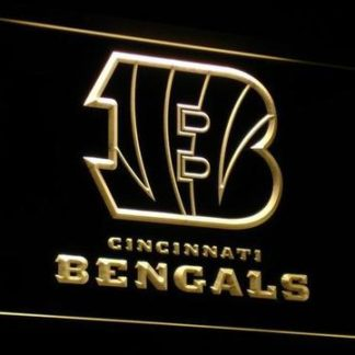 Cincinnati Bengals B neon sign LED