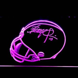 Cleveland Browns Brandy Quinn Helmet Signature neon sign LED