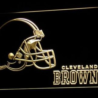 Cleveland Browns neon sign LED
