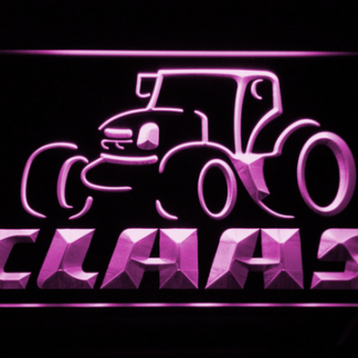 Claas neon sign LED