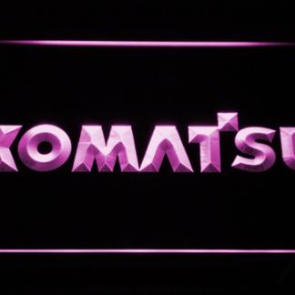 Komatsu neon sign LED