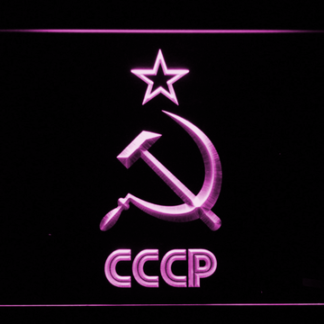 Hammer and Sickle Star CCCP neon sign LED