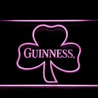 Guinness Shamrock Outline neon sign LED