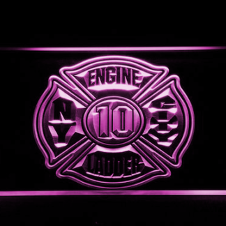 Fire Department New York neon sign LED