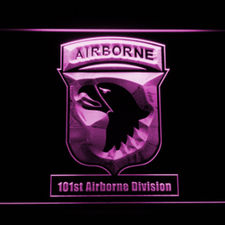 US Army 101st Airborne Division neon sign LED